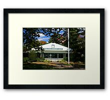 GPCC & Flag Framed Print
