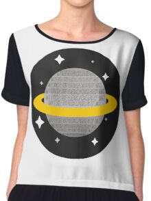 Outer Space/Carry On 5sos  Chiffon Top