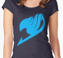 Fairy Tail (Blue) Women's Fitted Scoop T-Shirt
