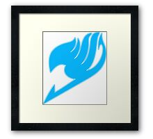 Fairy Tail (Blue) Framed Print