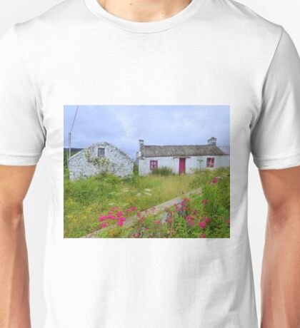 The Summer Blooms Of Rural Ireland Unisex T-Shirt