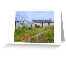 The Summer Blooms Of Rural Ireland Greeting Card