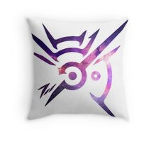 Dishonored Symbol (Galaxy) Throw Pillow