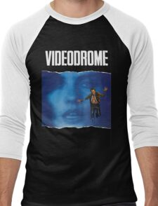 Videodrome Poster Men's Baseball ¾ T-Shirt