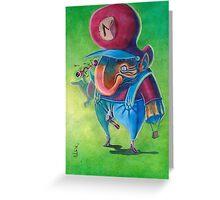 Mario - Super Mario bros 2 Nintendo Greeting Card