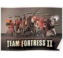 Fantasy Team Fortress 2 Poster