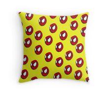 the crayola spiderman Throw Pillow