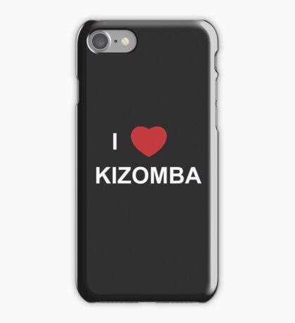I Love Kizomba - iPhone Case Black iPhone Case/Skin