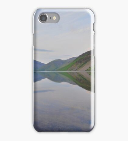 The Lake District: Wastwater Refelctions iPhone Case/Skin