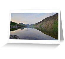 The Lake District: Wastwater Refelctions Greeting Card