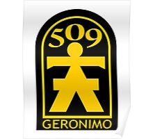 509th Airborne Infantry Poster
