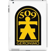 509th Airborne Infantry iPad Case/Skin