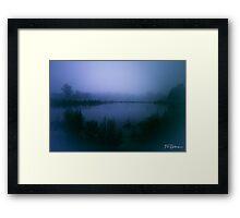 Blue Day Framed Print