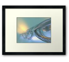 Traveling Through Time Framed Print