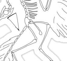 Partyopteryx Sticker