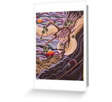 Wind in the Willow Greeting Card