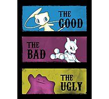 Good, Bad & Ugly Photographic Print
