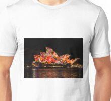 Sydney Vivid 7 Dot Art 2 Unisex T-Shirt