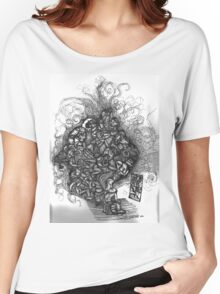 Looking Out Looking In Women's Relaxed Fit T-Shirt