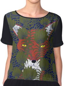 Invisible Fox Women's Chiffon Top