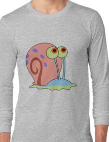 gary the snail Long Sleeve T-Shirt