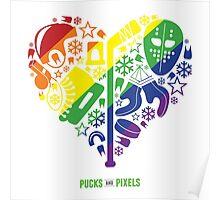 Hockey Heart (Equality) Poster
