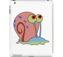 gary the snail iPad Case/Skin