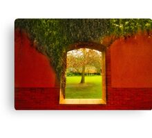 Chandon Window Canvas Print