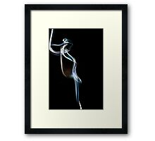 Smoke Trail (#7130) Framed Print