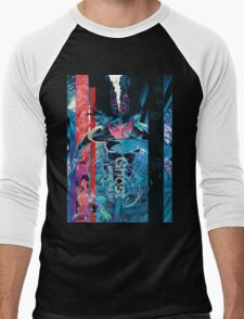 Ghost In The Shell Poster Men's Baseball ¾ T-Shirt