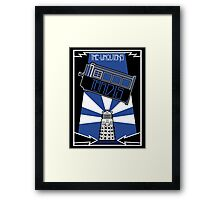 The-Whovians Framed Print
