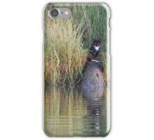 Monsieur Cat Goes Fishing iPhone Case/Skin