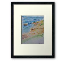 La Jolla Cove, 7/14/13 Framed Print