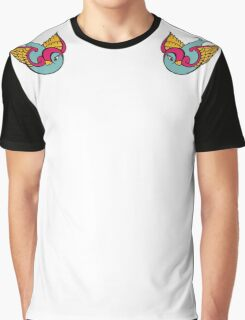 Tattoo Swallows Graphic T-Shirt