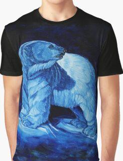 Blue Prince Charming, the Polar Bear  Graphic T-Shirt