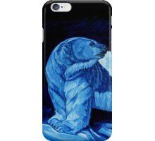 Blue Prince Charming, the Polar Bear  iPhone Case/Skin
