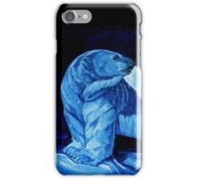 Blue Prince Charming, the Polar Bear  iPhone Case/Skin
