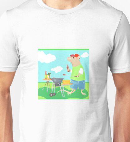 Rattie Barbecue Unisex T-Shirt