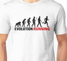 Running Evolution Of Man Funny T Shirt Unisex T-Shirt