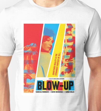 Blow-Up (1966) dir. Michelangelo Antonioni Unisex T-Shirt