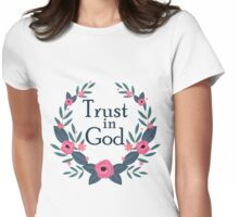 Trust in God Womens Fitted T-Shirt