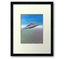 The Flying Saucer II Framed Print