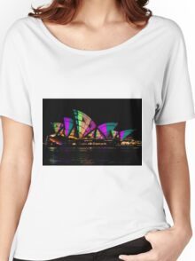 Sydney Vivid 14 Patterns 1 Women's Relaxed Fit T-Shirt