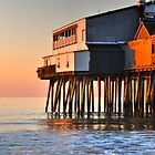 Sunrise Pier at high tide..... by Poete100