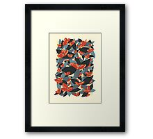 Poppy Freckles Framed Print