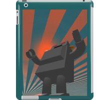 Retro Style Robot 4 iPad Case/Skin