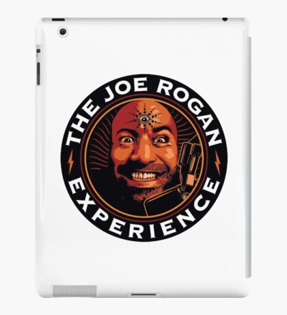 joe rogan - experience iPad Case/Skin