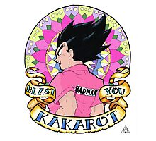 Blast You Kakarot Photographic Print