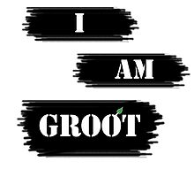 I AM GROOT! by Emma Anderson
