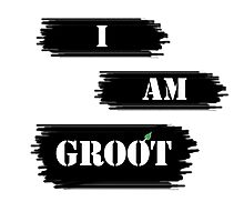 I AM GROOT! Photographic Print